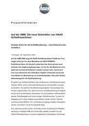 Sechste Achse für die Schleifbearbeitung - HAAS Schleifmaschinen ...