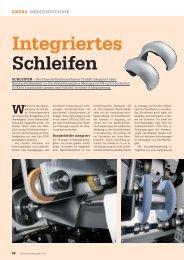 Integriertes Schleifen - HAAS  Schleifmaschinen GmbH