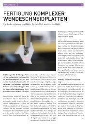 Fertigung komplexer Wendeschneidplatten - forum GT/2012 - HAAS ...