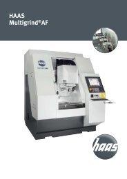 HAAS Multigrind®AF - HAAS Schleifmaschinen GmbH