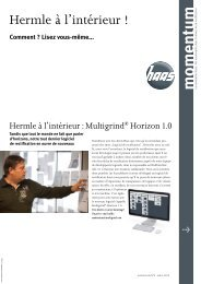 momentum N° 5 - HAAS Schleifmaschinen GmbH