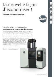 momentum N° 3 - HAAS Schleifmaschinen GmbH
