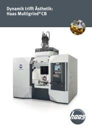 Multigrind®CB - HAAS Schleifmaschinen GmbH