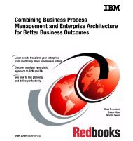 Combining BPM and EA for Better Business Outcomes