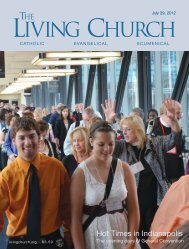 Faith-Based Reconciliation - The Living Church