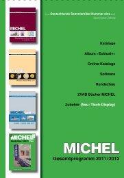 MICHEL-Deutschland-Kataloge