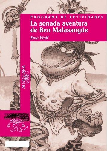 Guía La sonada aventura de Ben Malasangüe - Alfaguara Infantil