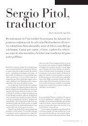 Sergio Pitol, traductor - Revista de la Universidad de México - UNAM