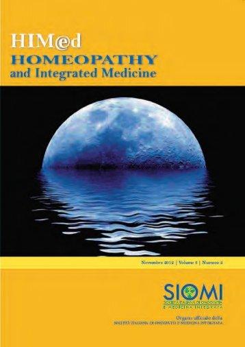 HIMed - Anno 3, numero 2 - Novembre 2012 - SIOMI
