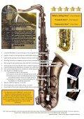 Saxophone Newsletter 2012 - Trevor James saxophones - Page 2