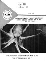 bulletin 37 - Eprints@CMFRI - Central Marine Fisheries Research ...