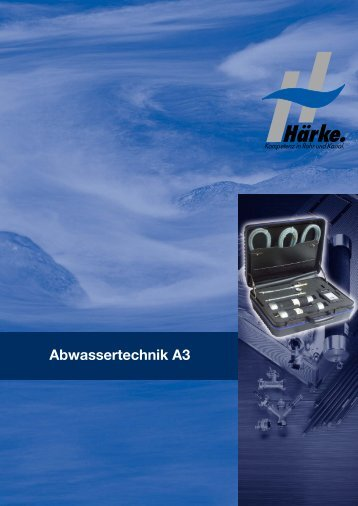 Abwassertechnik A3 - Härke GmbH & Co. KG
