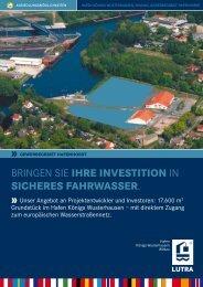 Exposé Gewerbeflächen im Hafen (PDF/318 kB)