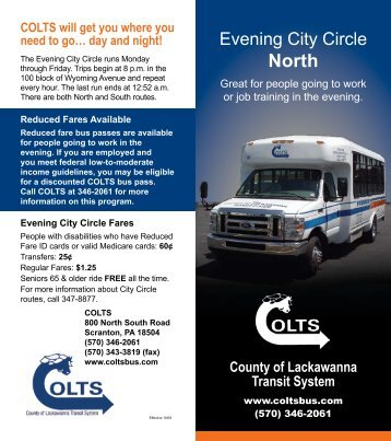 Evening City Circle - Colts