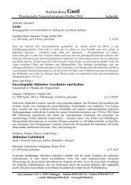 Buchhandlung Gastl Theologische Neuerscheinungen Herbst 2010 ...