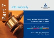 Safe Hospitality - Health and Safety Authority