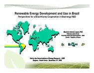 Renewable Energy Development and Use in Brazil – Perspectives ...