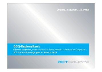 DGQ-Regionalkreis - Hagen Consulting & Training GmbH
