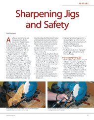 Sharpening Jigs and Safety - American Association of Woodturners