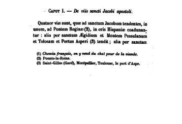 Le codex de Saint-Jacques de Compostelle (Liber de miraculis S ...