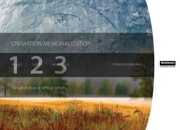 CREMATION MEMORIALIZATION - Matthews Cremation