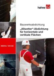 Imberal SK-Bitumenbahn.indd - Heinrich Hahne GmbH & Co. KG