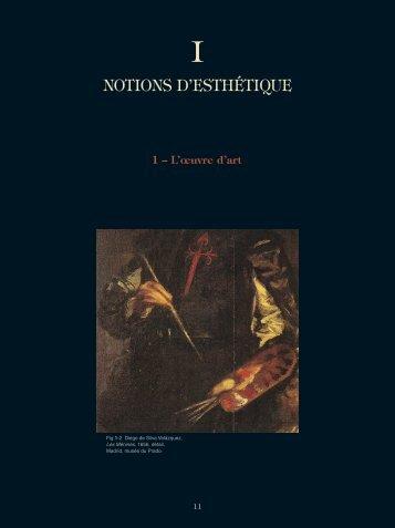NOTIONS D'ESTHÉTIQUE - Les Éditions de l'École Polytechnique
