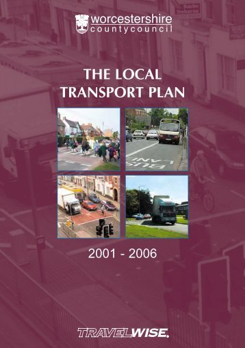 Integrated Public Transport Strategy - Worcestershire County Council