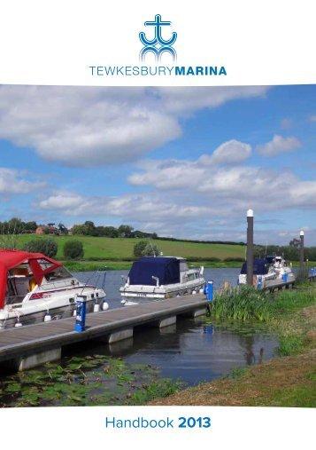HANDBOOK 2012 - Tewkesbury Marina