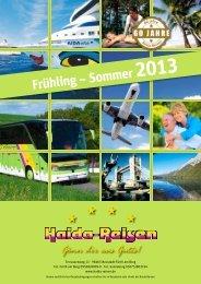 Leistungen - Haida-Reisen