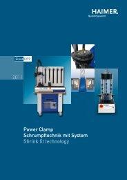 Power Clamp Schrumpftechnik mit System Shrink fit ... - Haimer USA