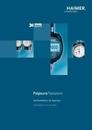 Palpeurs/Tastatore - Haimer GmbH