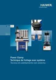 2011 Power Clamp Technique de frettage avec système Tecnica di ...