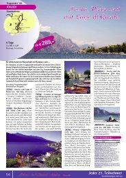 Gardasee, Pasta, Wein und Dolce Vita