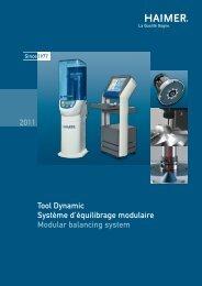 Tool Dynamic Système d'équilibrage modulaire Modular balancing ...