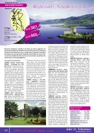 Highlands, Schottenrock und Whisky