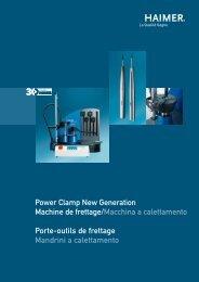 Power Clamp New Generation Machine de frettage ... - Haimer GmbH