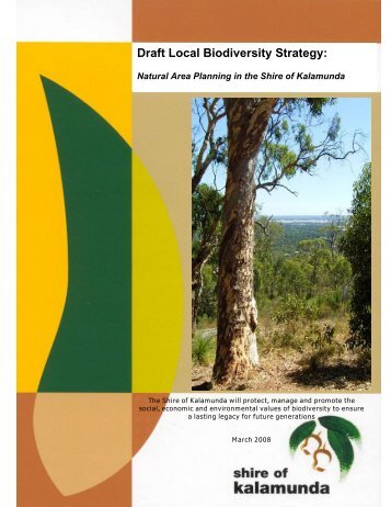 Draft biodiversity strategy nsw