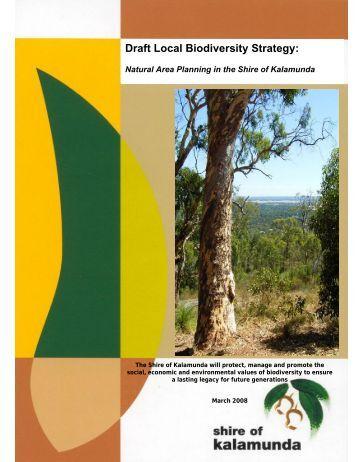 Draft Local Biodiversity Strategy: