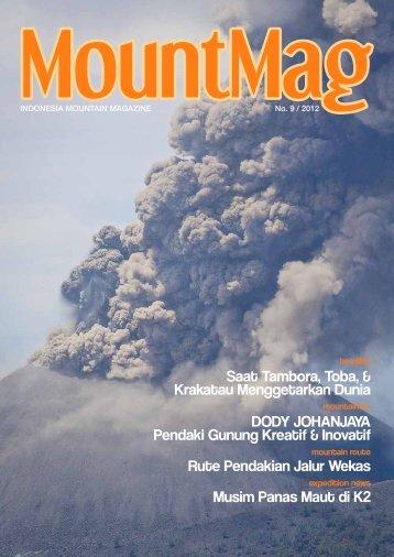 Saat Tambora, Toba, & Krakatau Menggetarkan Dunia ... - MountMag