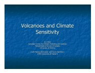 Volcanoes and Climate Sensitivity - Ceres