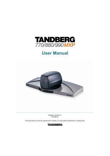 tandberg maestro mxp gci advantage video rh yumpu com Phone Desktop Business VoIP Phones