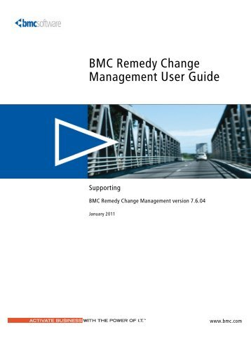 bmc remedy action request system 7 6 04 workflow objects guide rh yumpu com User Guide Cover Clip Art User Guide