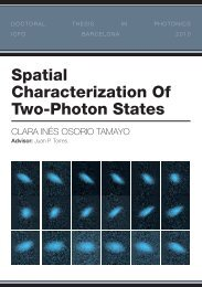 Spatial Characterization Of Two-Photon States - GAP-Optique