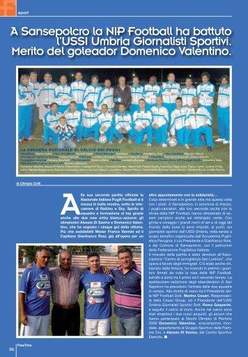 La NIP Football ha battuto l'USSI di - Freetimemagazine.net