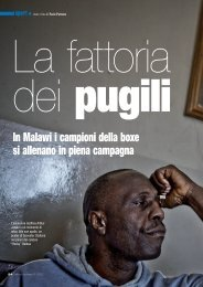 In Malawi i campioni della boxe si allenano in piena ... - Paolo Patruno