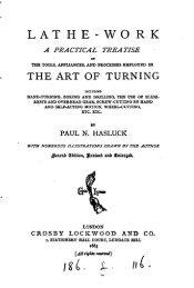 Lathe-Work A Practical Treatise by Paul N - Evenfall Studios