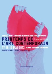 Programme_PrintempsArtContemporain_2013