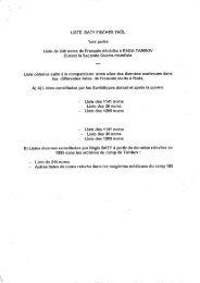 TAMBOV Liste R. Baty et - Malgré-Nous