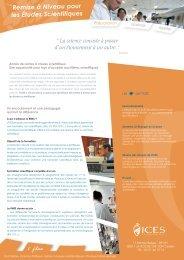 Remise à Niveau pour les Études Scientifiques - La Roche-sur-Yon